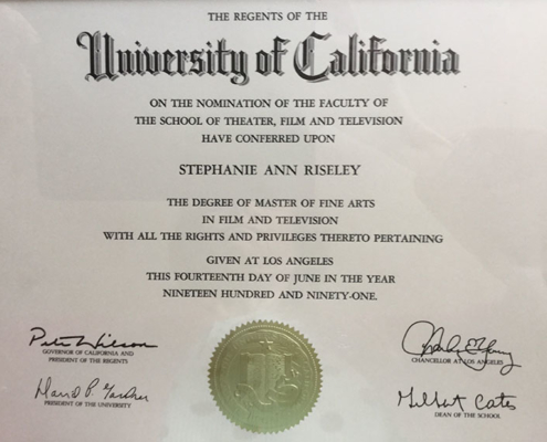 UCLA Masters Degree